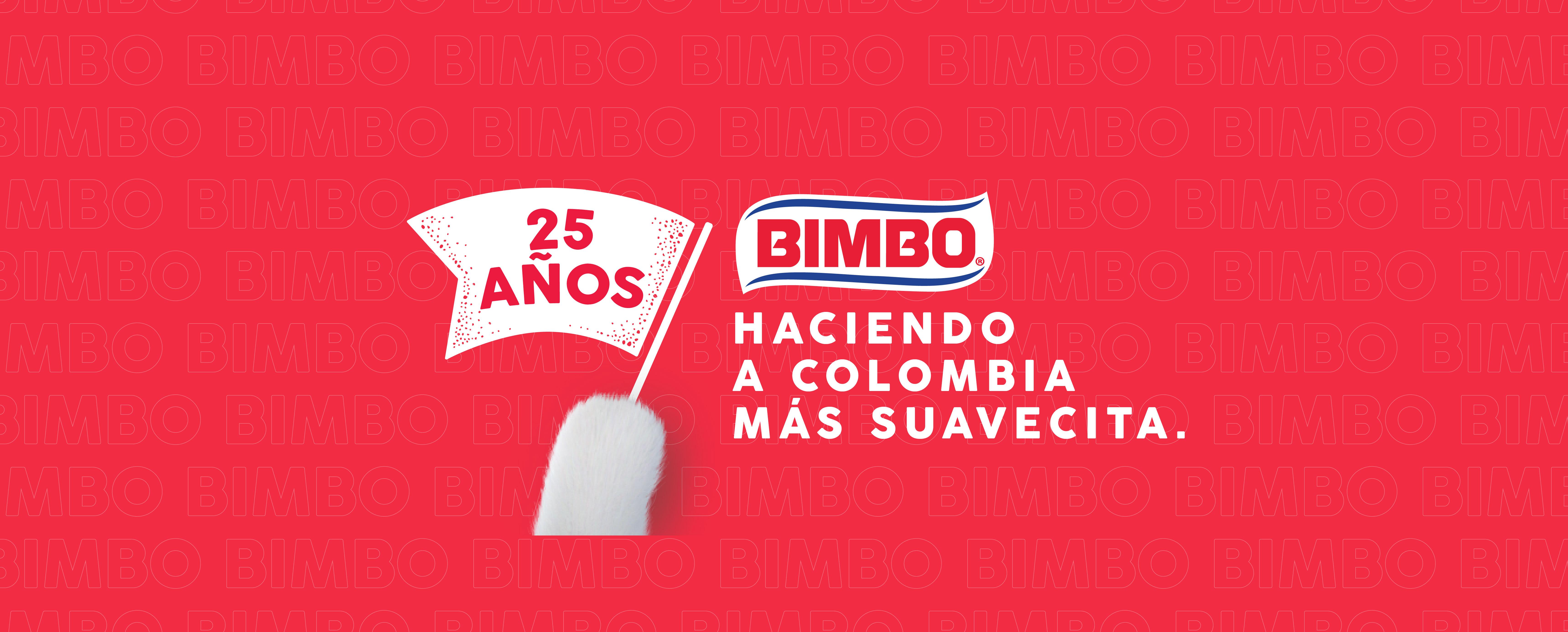 BIMBO COLOMBIA 25 AÑOS